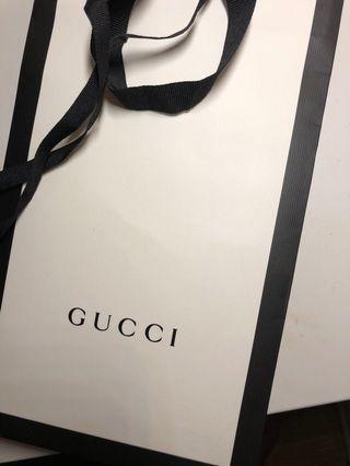 Gucci giftbag