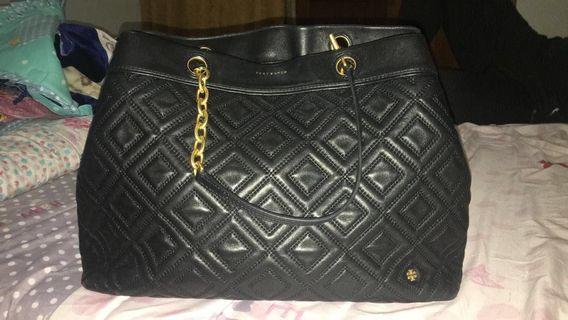 Authentic - Tory Burch Flemming tote black