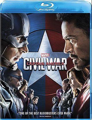 美國隊長:英雄內戰 civil war Blu-ray (港版中字)