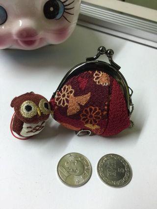 🚚 日系迷你口金零錢包