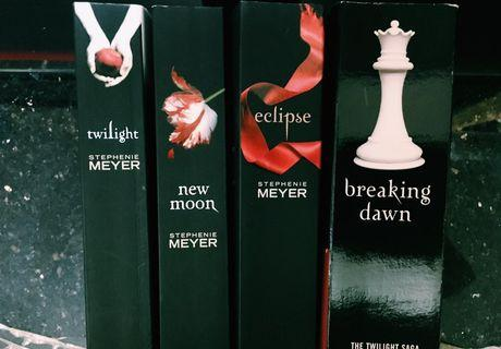 Twilight 吸血新世紀 全套英文小說