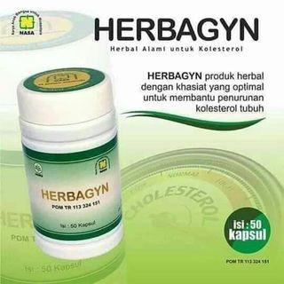 100%Original HERBAGYN PENURUN KOLESTROL
