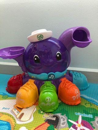 Leapfrog Peek-A-Shoe Octopus