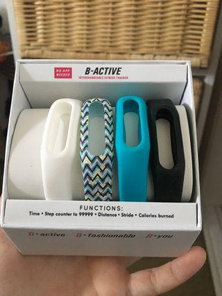 B-ACTIVE fitness tracker bands