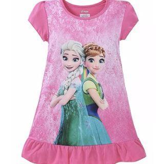 🚚 Frozen pink cute smart dress