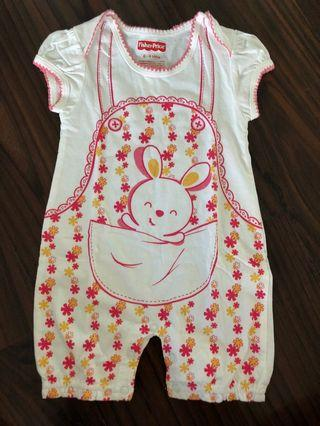 Like new! Fisher price romper ori