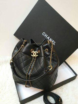 READY SALE BEST SELLER Chanel drawstring vip gift with box