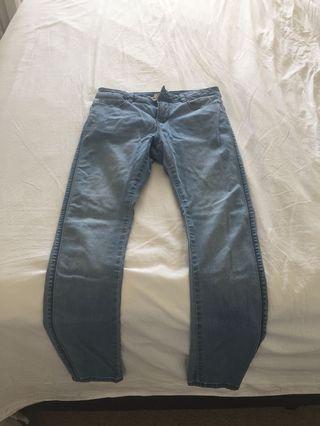 Re Denim Light Wash Blue Jeans Size 10