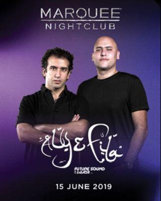 🚚 Aly & Fila Marquee Club Tickets x2