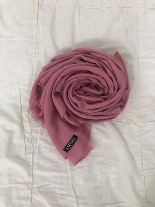 Pink Saudia Shawl #GayaRaya