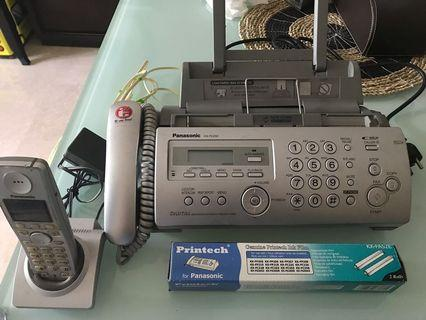 Fax and Phone Panasonic KX FC 255
