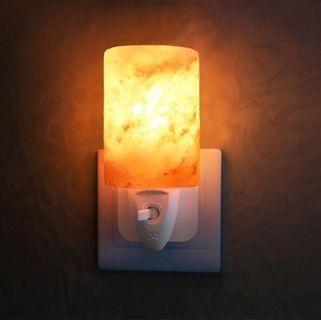 Himalayan Salt lamp lighting lights Night light for comfort and smooth sleep furniture 3 ping plug singapore room