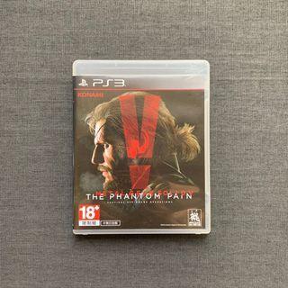 PS3 Game 蛇叔V幻痛(中文)
