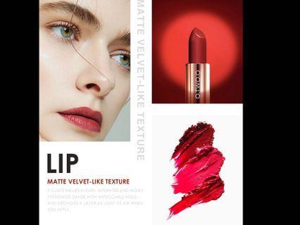 Intense Matte Velvet Moisturise WaterProof Lasting Lipsticks( Preorder)second item half price ( comes in two weeks)