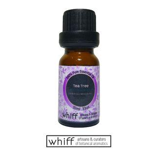Tea Tree (Melaleuca) Essential Oil 100% Natural 10ml for Aromatherapy Diffuser by Whiff
