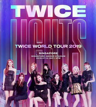 [Selling] Twice Singapore Concert CAT 2 and CAT 3 Tickets