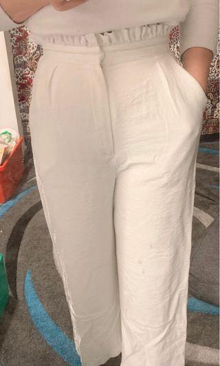 Bardot white pant
