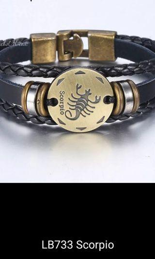 Bracelets - A, B, C, D, E Length 19.5cm