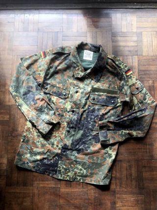 德軍公發 叢林迷彩襯衫