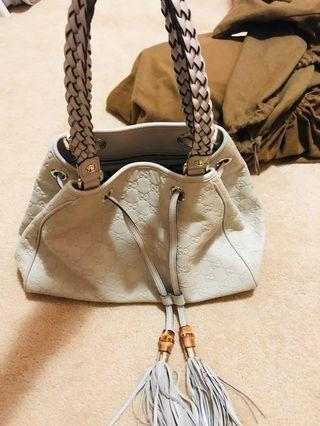 Genuine Gucci leather bag