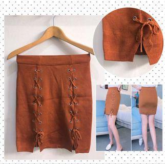 Choco Skirt Knit