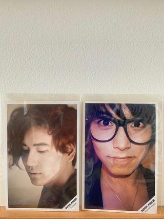 [OFFICIAL MERCH] Super Junior printed pictures Sungmin Kyuhyun