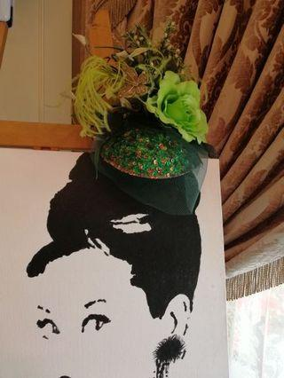 🚚 SJP inspired headpiece (fully handsewn and handmade)
