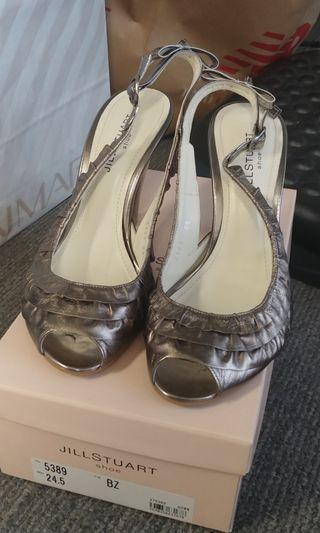 """Jill Stuart 4"""" high heel Japan size 24.5"""