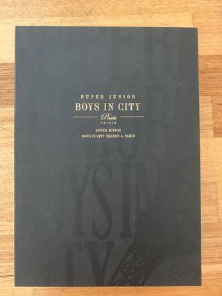 [OFFICIAL PHOTOBOOK] LIMITED EDITION Super Junior Boys In City Season 4 Paris