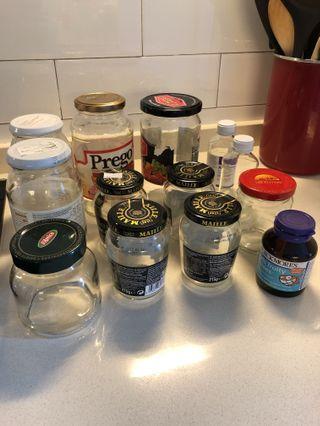 Free - Glass Jars