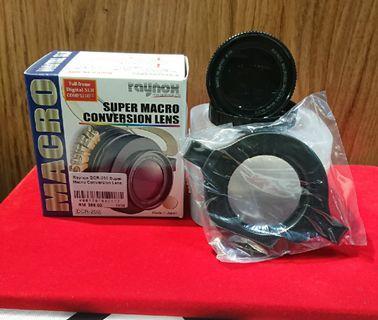 Raynox DCR-250 Super Marco Conversion Lens 49mm fikter size