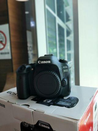 [BRAND NEW] Canon 80D Body Only