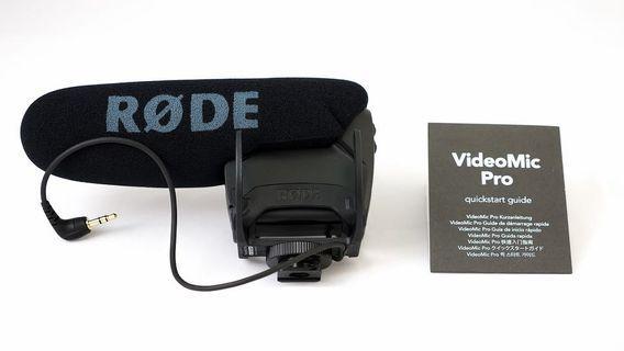 Rode videomic Pro plus + Rode deadcat VMPR