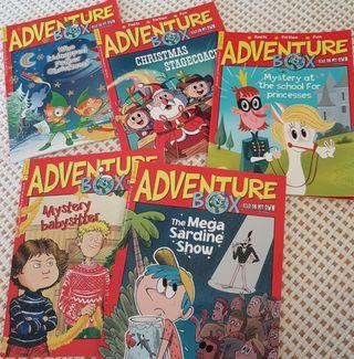 🚚 Adventure Box books