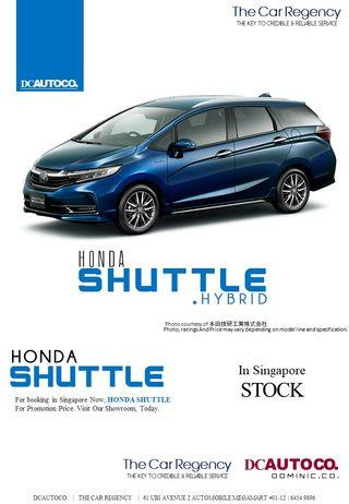 Honda Shuttle Hybrid 1.5 Honda Sensing (A)
