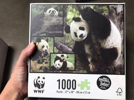 WWF panda puzzle