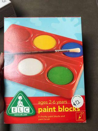 Paint blocks