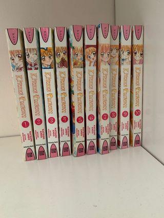 Manga: Kitchen Princess (Book 1-10)