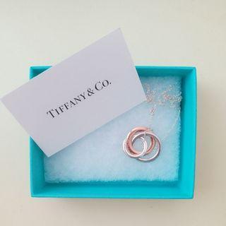 (全新) Tiffany 鎖環圓圈鍊墜 necklace pendant