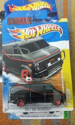 Hotwheels A Team Van