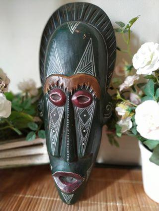 Nusantara tribal mask wood 2
