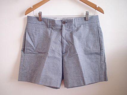 Maison Kitsune Shorts in Chambray Blue