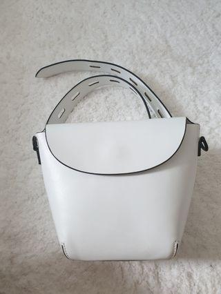Charles and Keith Preloved 2 in 1 belt/sling bag