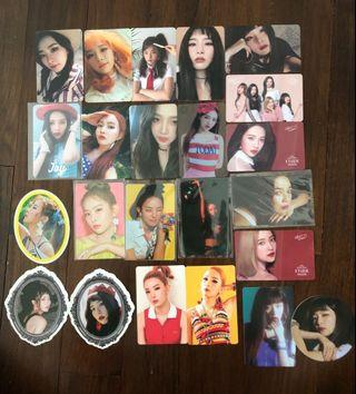 🚚 CHEAP Red Velvet Photocards Pcs Clearance