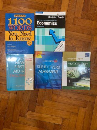 🚚 First aid in English 1000 words you need to know vocabulary economics a levels guide revision hci