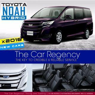 Toyota Noah 1.8 X Hybrid 7-Seater (A)