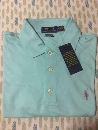 POLO RL Parakeet Collared Shirt - Medium