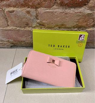 🚚 Ted Baker Pink Long Wallet BNWT