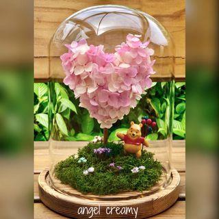 保鮮花 心型花樹