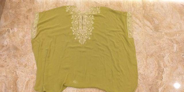 green batwing top #ramadanbermanfaat